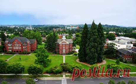 Се́йлем — город на северо-западе США, административный центр штата Орегон
