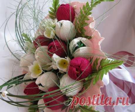 Тюльпаны+конфеты=праздник для души! / Флористика, топиарии / PassionForum - мастер-классы по рукоделию