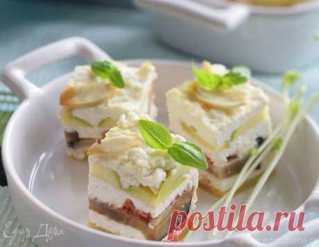 Творожная закуска с овощами   Официальный сайт кулинарных рецептов Юлии Высоцкой
