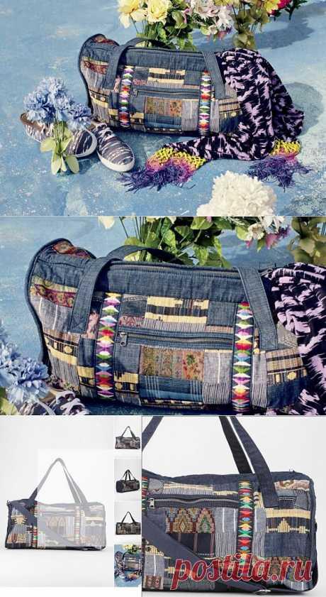 Лоскутная сумка / Пэчворк / Модный сайт о стильной переделке одежды и интерьера