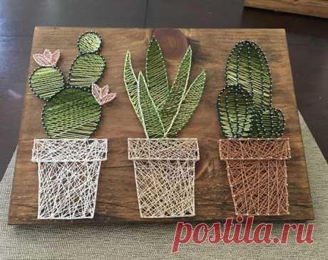 «String Art Crafts» - Струнные художественные ремесла.