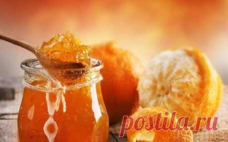 Апельсиновое варенье  Ингредиенты: апельсины - 1 кг;  сахар - 500г;  Показать полностью…