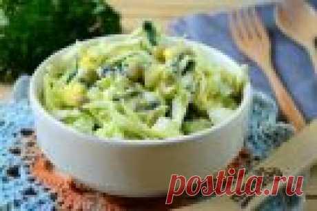 Салат из крапивы с яйцом и огурцом - пошаговый рецепт с фото на Повар.ру