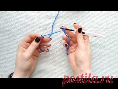 как сделать начальную петлю на пальцах