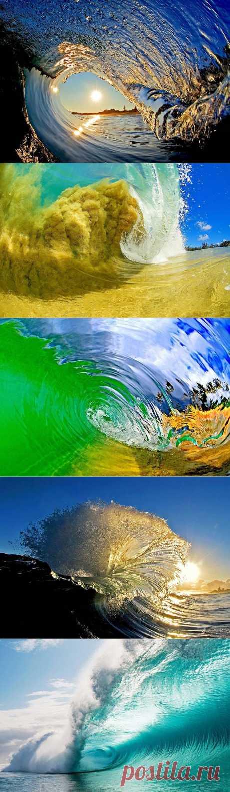 Красивые волны от фотографа Кларка Литтла
