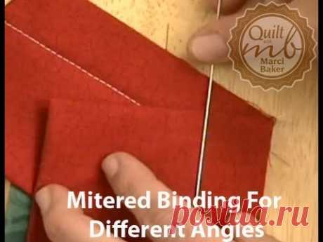 Mitered Binding for Different Angles