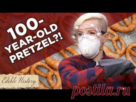 I Tried To Make A 100-Year-Old Pretzel Recipe •Tasty