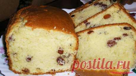 Кекс — очень вкусный и простой рецепт