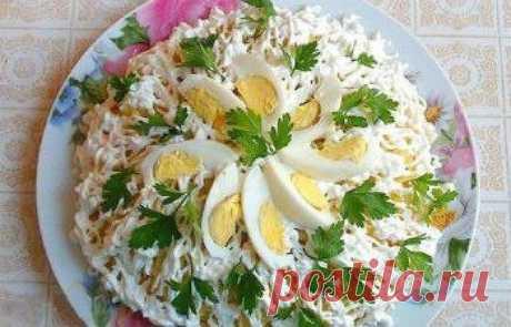 Как приготовить салат невеста - рецепт, ингредиенты и фотографии