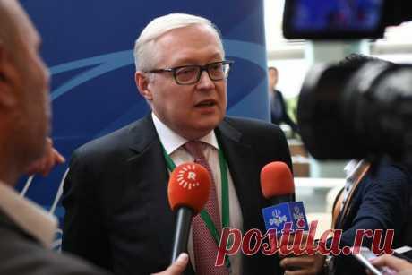 Рябков предупредил США об ответе на новые санкции против России