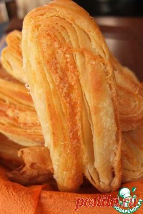 Сырные язычки - кулинарный рецепт