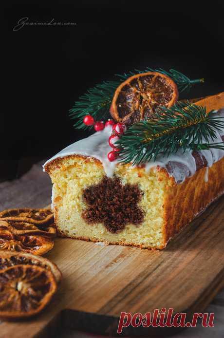 Новогодний кекс с сюрпризом   Блог Zosimidou