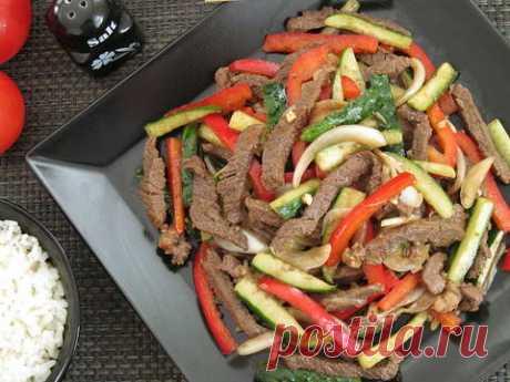 """""""Ве-ча"""", или салат из говядины с огурцами по-корейски - пошаговый рецепт с фото. Автор рецепта Annetta . - Cookpad"""