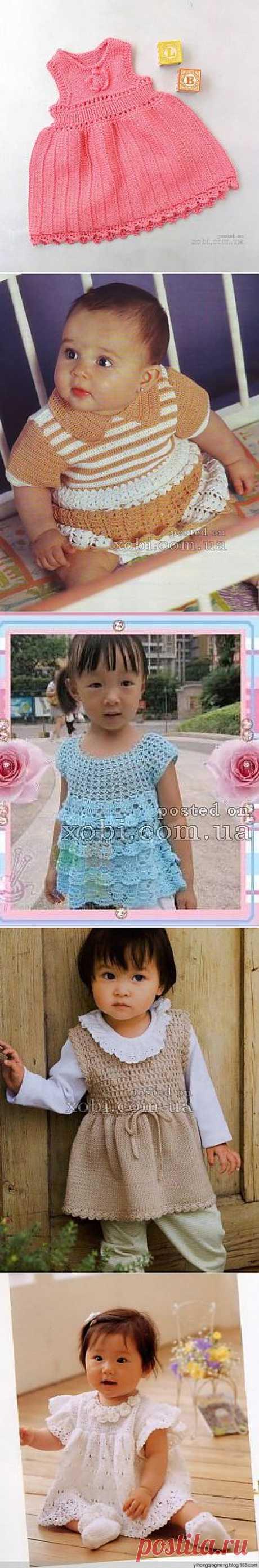 Красивые наряды для малышки..