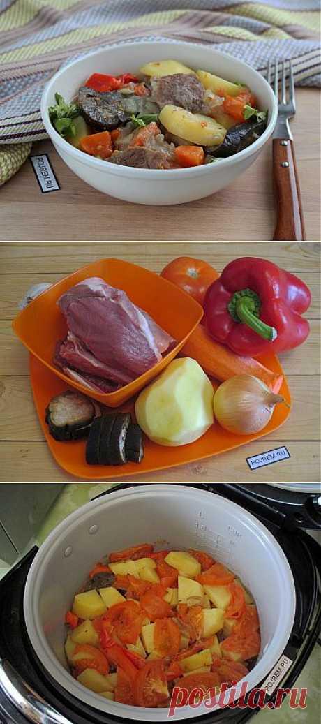 Чанахи в мультиварке - рецепт с фото