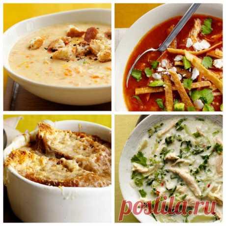50 рецептов супов Супы | Гранд кулинар