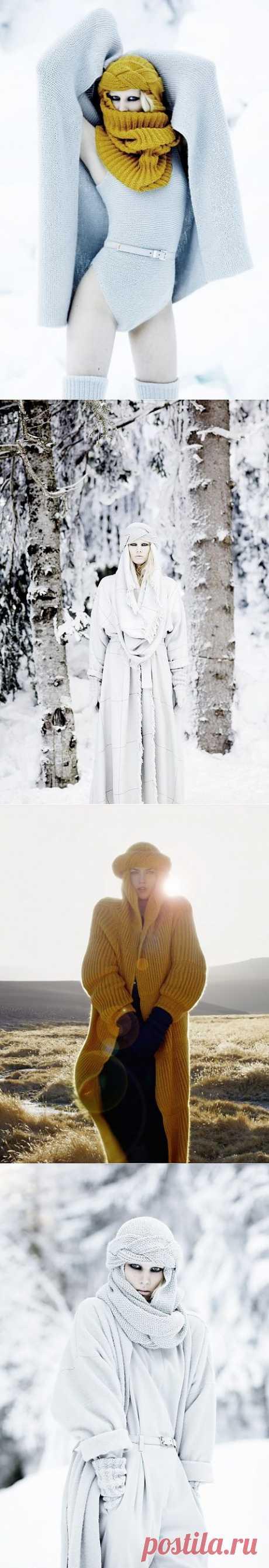 Шапко-шарфы от Lilly Marthe Ebener / Вязание / Модный сайт о стильной переделке одежды и интерьера