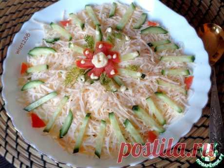 Салат «Всеохотный» Кулинарный рецепт