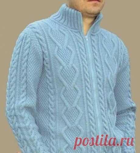Мужские свитера спицами   Волшебные спицы   Яндекс Дзен