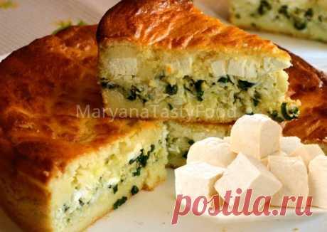 El pastel de aspic con el queso feta - Cookpad