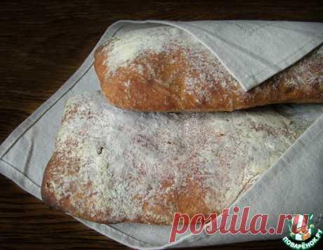 Чиабатта на картофельном отваре – кулинарный рецепт