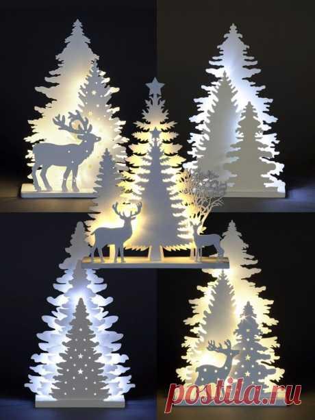 Новогодние светильники: идеи — DIYIdeas