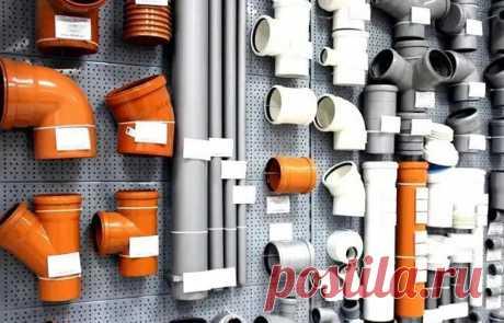 Белая, серая, оранжевая канализационные трубы: в чем их отличие кроме цвета - медиаплатформа МирТесен