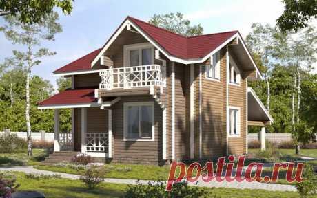 Удачный дом с 4 спальнями площадью 94 кв.м. | flqu.ru - квартирный вопрос. Блог о дизайне, ремонте