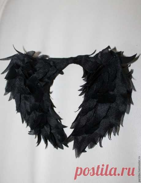Мастер-класс : Как сделать крылья ангела для куклы | Журнал Ярмарки Мастеров