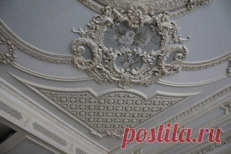 Варианты декора потолка: 50 фото, красивые идеи декорирования