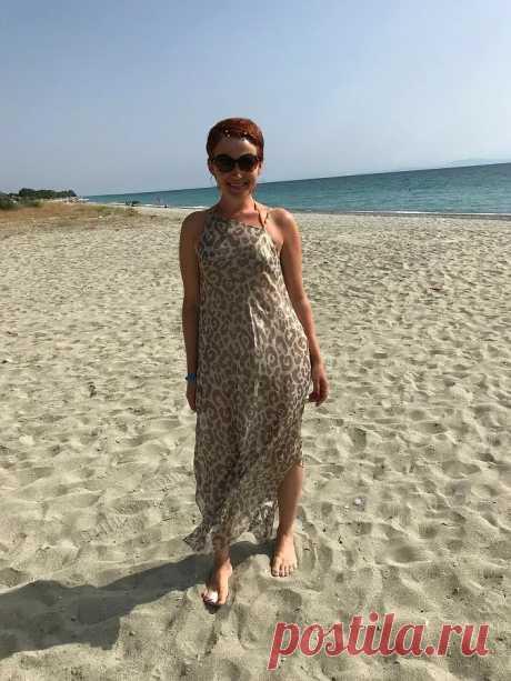 Пляжный сарафан без выкройки своими руками — Мастер-классы на BurdaStyle.ru