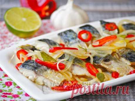 Эскабече из рыбы (из скумбрии) — рецепт с фото