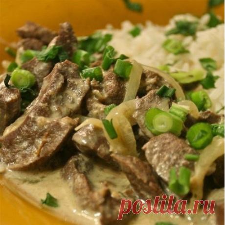 Печень в сырном соусе: вкуснейший диетический рецепт приготовления!