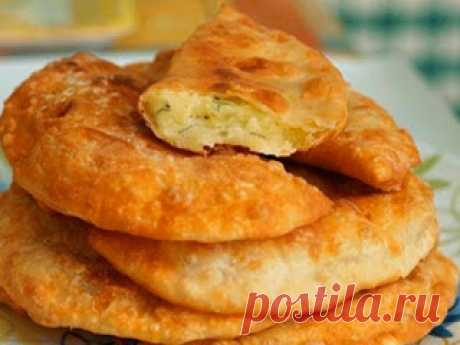 Самые вкусные рецепты: Чебуреки на кефире с картошечкой