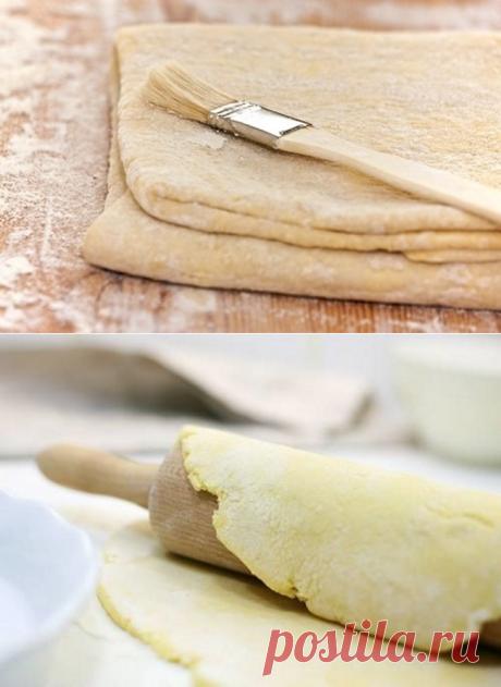 Несколько рецептов теста для французской выпечки