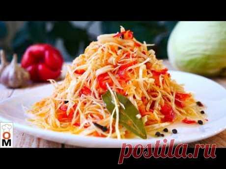 Салат из Капусты в  Горячем Маринаде,  Вкуснятина Нереальная   Ольга Матвей