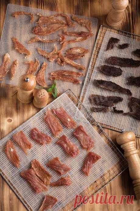 Мясные джерки в дегидраторе рецепт с фото пошагово - 1000.menu