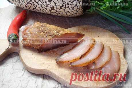 Бастурма из курицы - вкусная и праздничная закуска