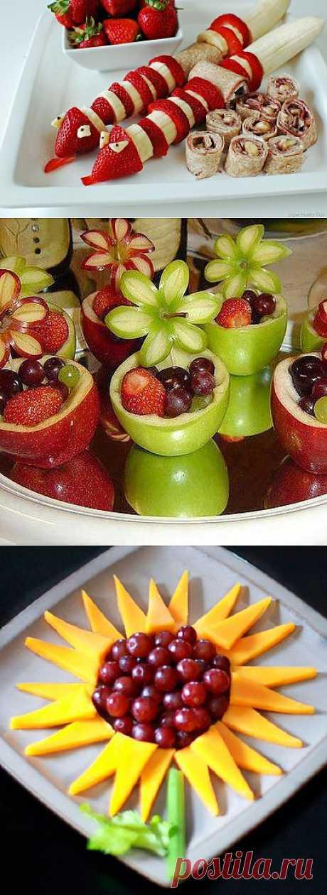 As it is beautiful to cut fruit