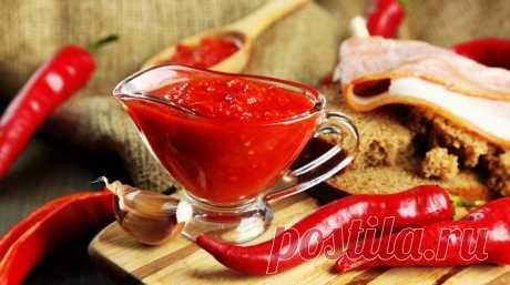 Сырая болгарская аджика | KitchenGuru.ru