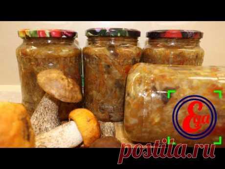 Удачный рецепт! Грибная солянка с капустой на зиму