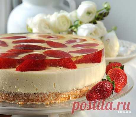 "Gornarosa — la Torta "" Primero поцелуй"" ¡solamente para los adultos!!! Al Yandex. Fotkah"