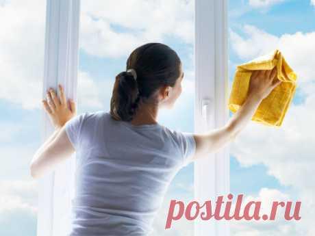 Быстро и правильно: 7 шагов на пути к прозрачным окнам и белоснежным рамам