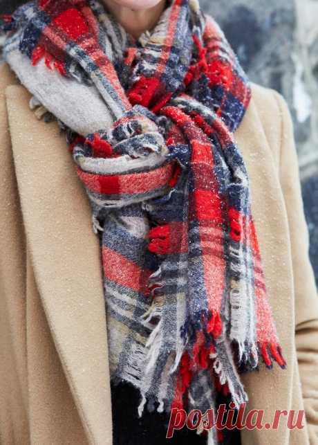 50 Идей, как завязывать красиво шарфы на шее