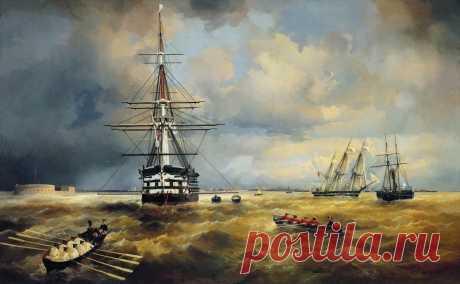 На выставку картин Айвазовского в Кронштадте вход свободный  Выставка будет работать с 1 июля по 1 сентября