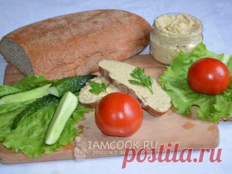 Селедочное масло для бутербродов — рецепт с фото