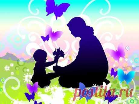 Притча о матери и о материнской любви к детям | Семья и мама