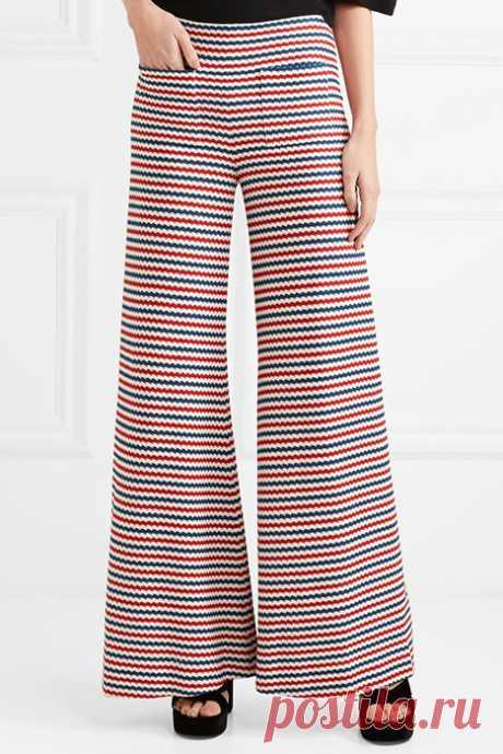 Женские трикотажные брюки (43 фото): для дома, спортивные или клеш | Мода от Кутюр.Ru