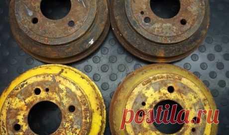 Вторая жизнь тормозных барабанов | мастеровой | Яндекс Дзен