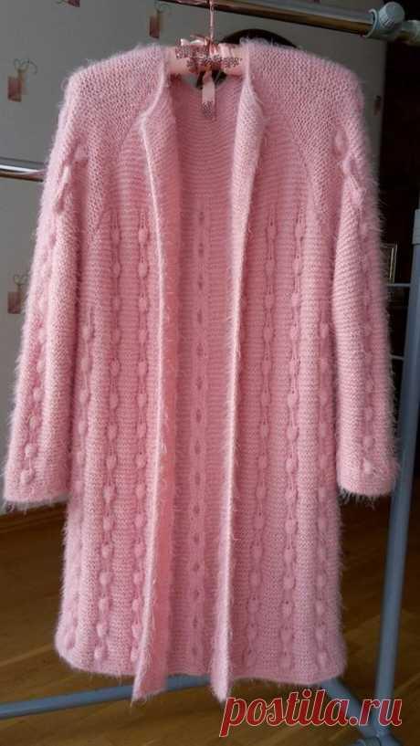 Вязанные пальто: стильно, оригинально, нетривиально